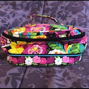 Vera Bradley Multi Compartment Travel Makeup Bag